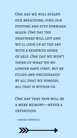 one day we will steady our breathing